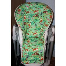 Вкладыш - чехол из 100 % хлопка США на стульчик для кормления BebeConfort Omega / Бебе Конфорт Омега