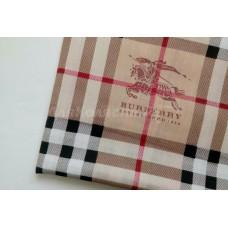 Ткань хлопок BURBERRY Брендовая ткань для шитья, одежды, текстиля, декора